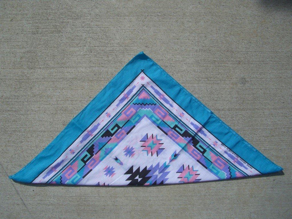 90s-pink-blue-southwestern-bandana-folded