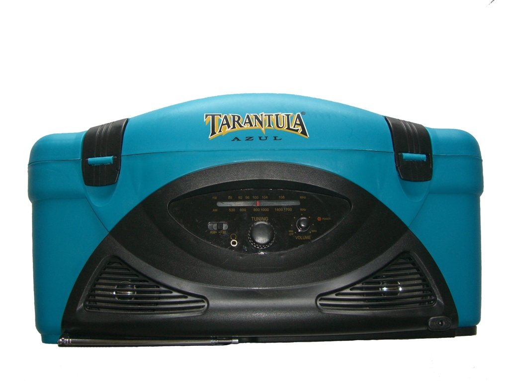 Chillin-Sounds-Tarantula-tequila-cooler-am-fm-stereo-front