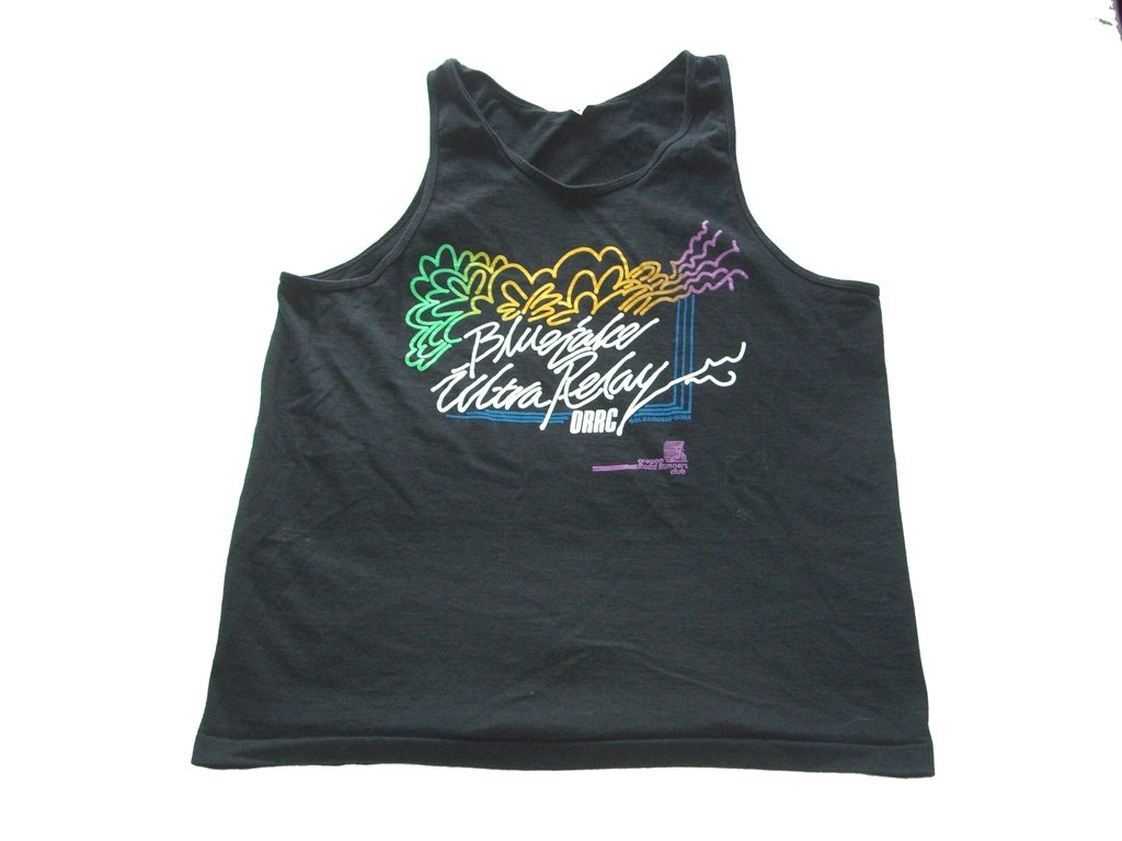 Blue Lake Ultra Relay Tank Top Front