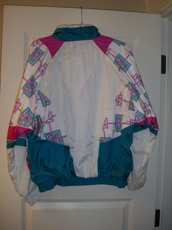 90s Misty Valley Sport Windbreaker back