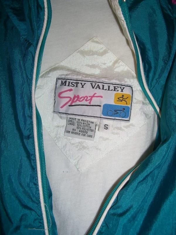 90s Misty Valley Sport Windbreaker tag 2