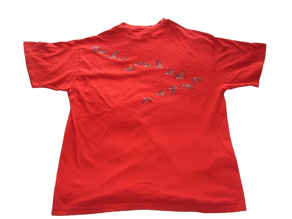 Vintage Flying Geese T-Shirt back
