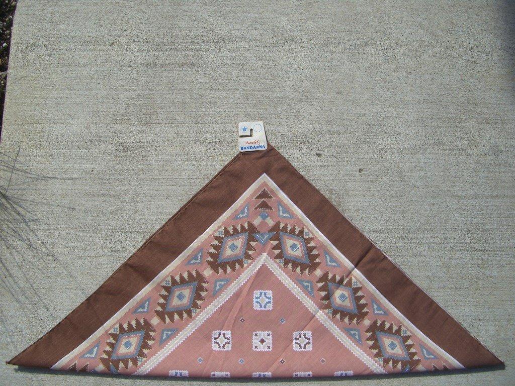 90s-brown-southwestern-bandana-folded