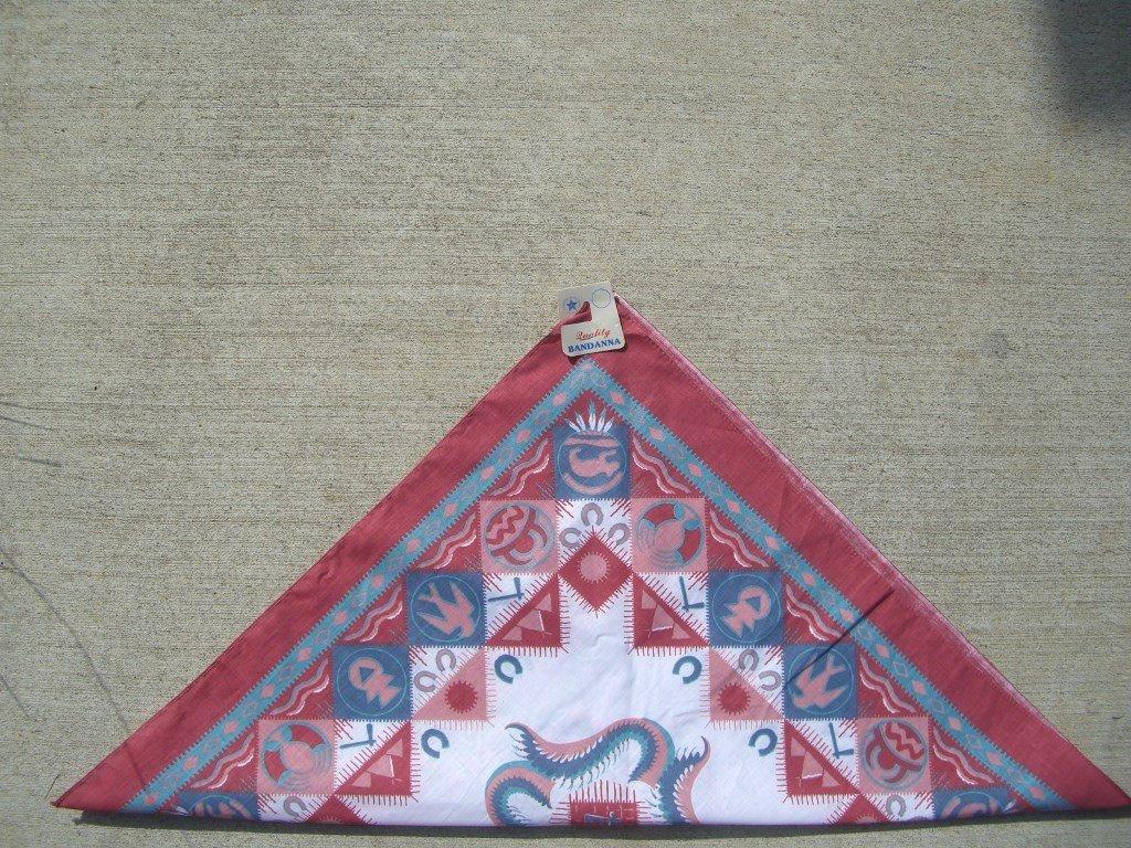 90s-red-green-southwestern-bandana-folded