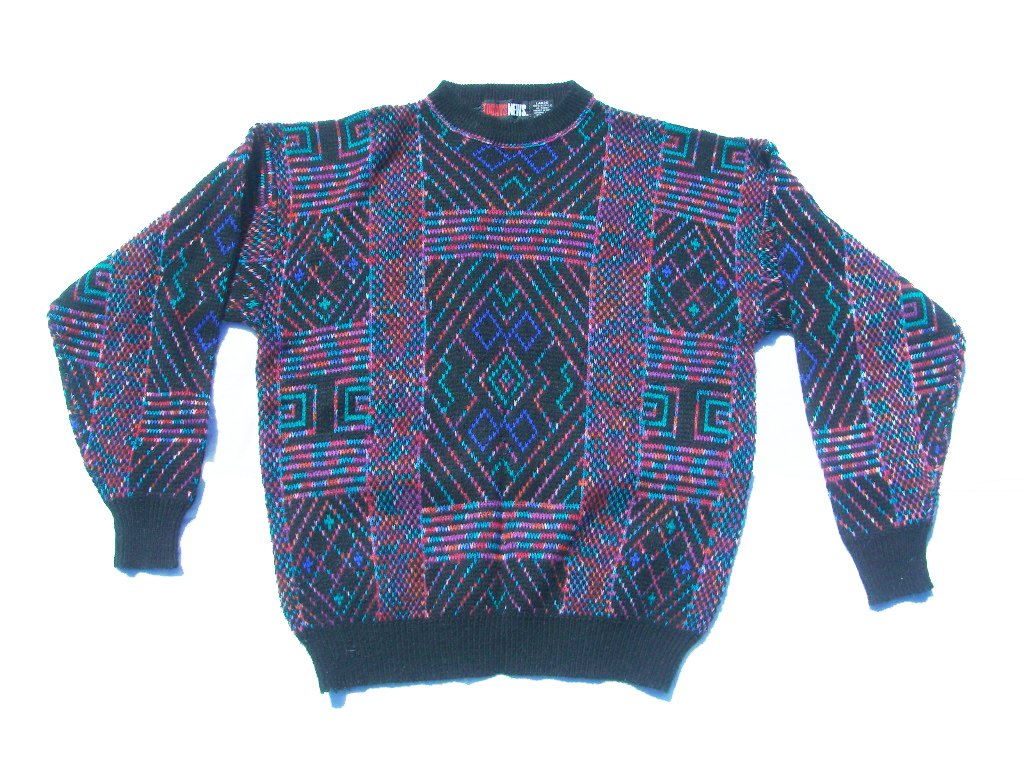 todays,news,crazy,90s,vintage,sweater,front