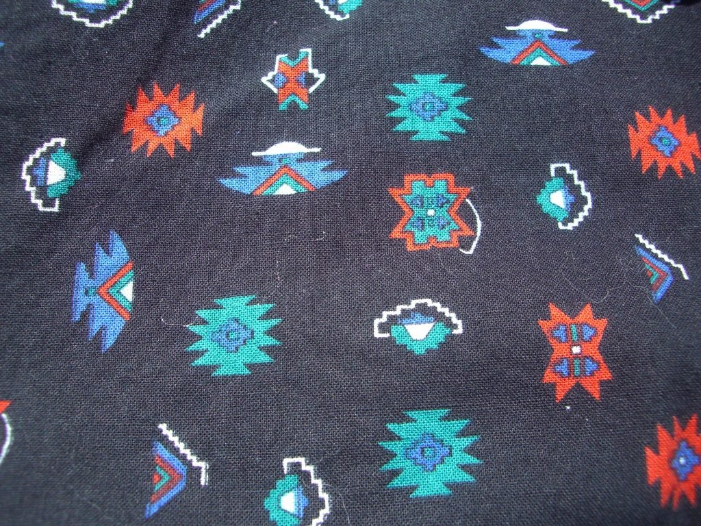 90s-vintage-oregon-pendleton-southwestern-button-up-shirt-pattern