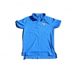 90s Vintage Pop Secret Blue Polo Shirt