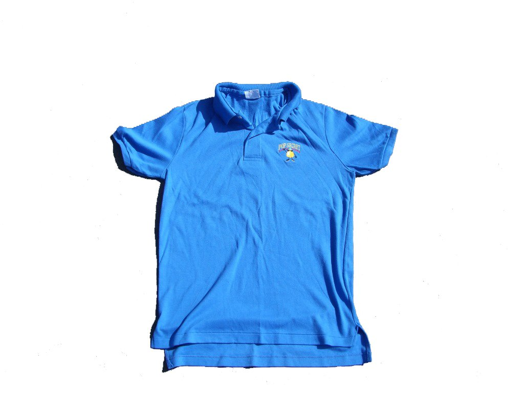 90s-vintage-pop-secret-blue-polo-shirt