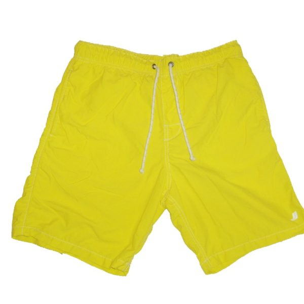 Bright Yellow Joe Fresh Shorts With Netting