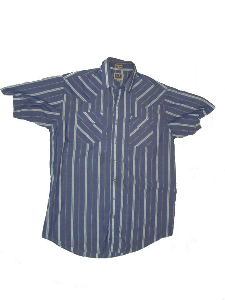 Ely Cattleman Short Sleeve Snap Button Western Shirt