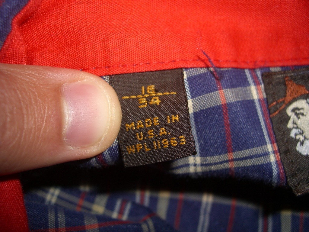 kenny-rogers-western-collection-by-karman-plaid-snap-button-shirt-size