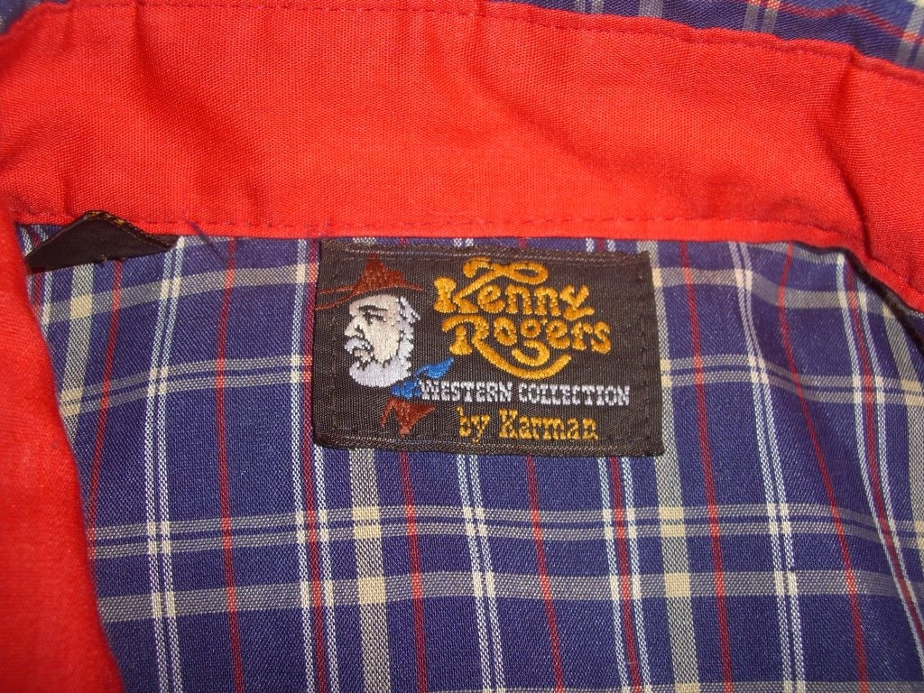 kenny-rogers-western-collection-by-karman-plaid-snap-button-shirt-tag