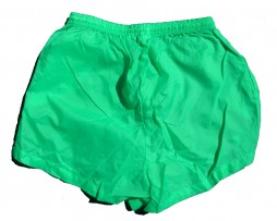 Neon Green Pro Spirit Nylon Water Repellent Shorts