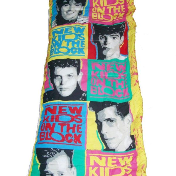 Vintage 1990 New Kids On The Block Sleeping Bag