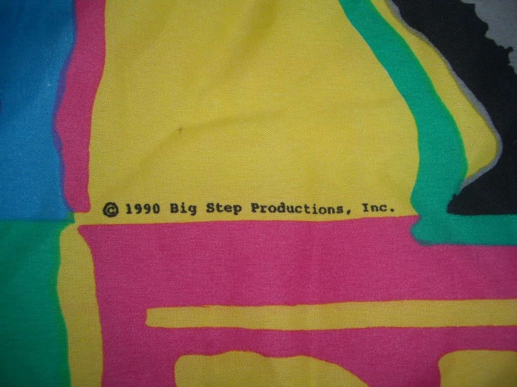 Vintage 1990 New Kids On The Block Sleeping Bag year and brand
