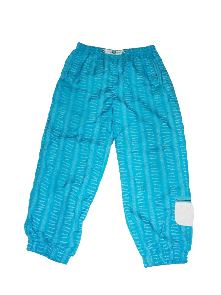 80s Vintage Blue Kaslin Snowboard Pants