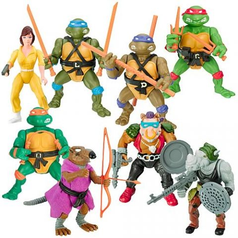 Ninja Turtles Action Figures