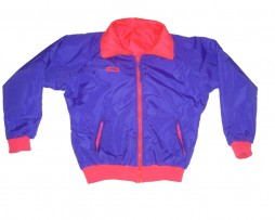 Totally 80s 90s Neon Reversible Columbia Sportswear Jacket Purple
