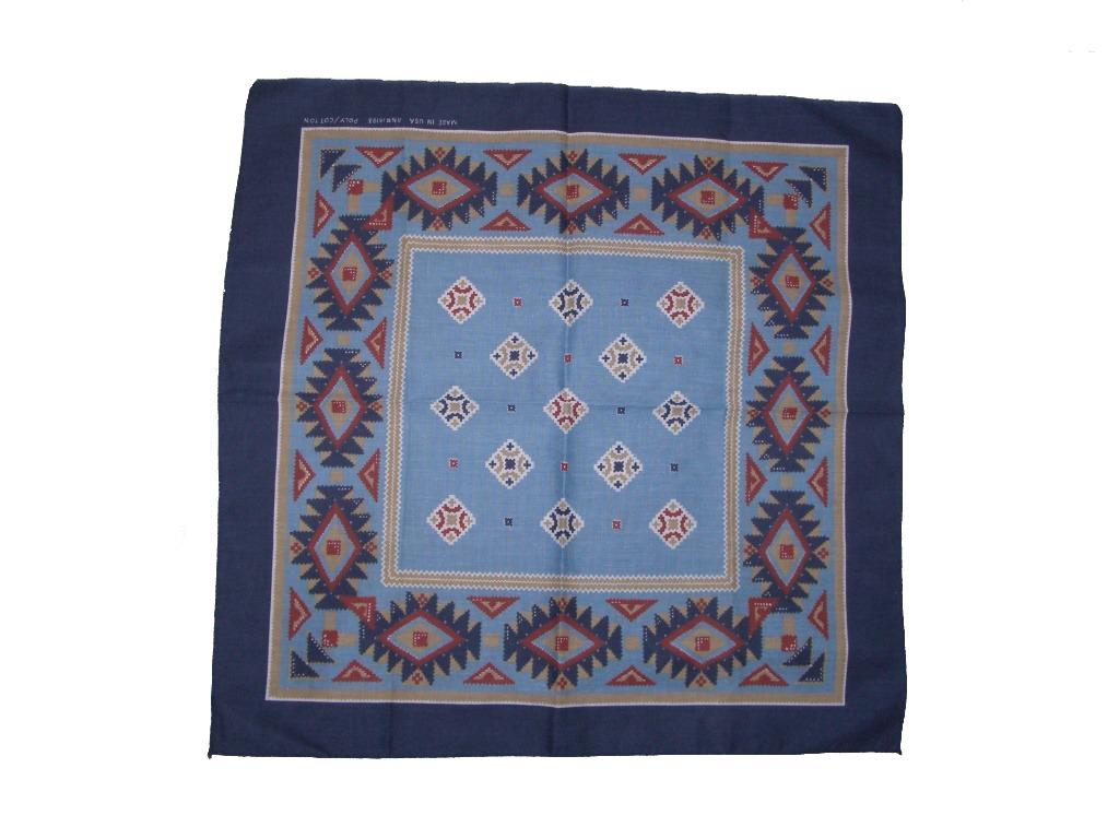 90s-blue-southwestern-bandana