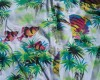 GAP Neon Fish Hawaiian Shirt Front Pattern