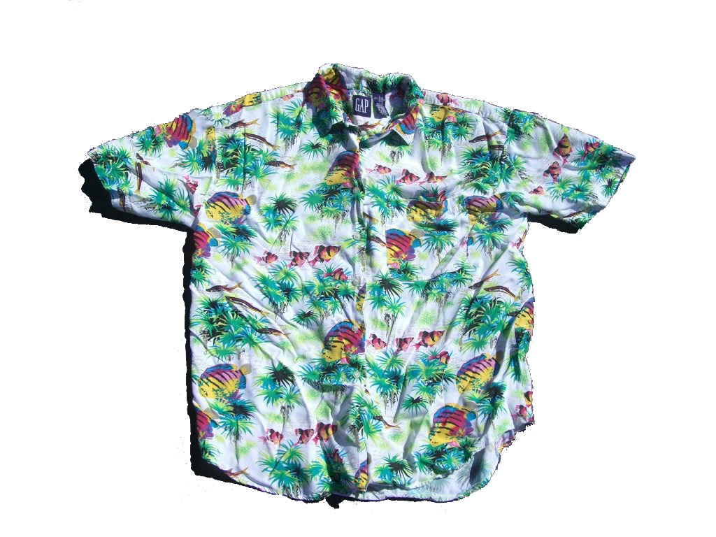 gap-neon-fish-hawaiian-shirt