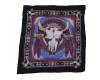 Southwestern Cow Bull Skull Bandana