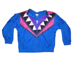 Totally 90s Converging Points Windbreaker By Lavon